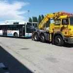 Soccorso stradale autobus ferrara